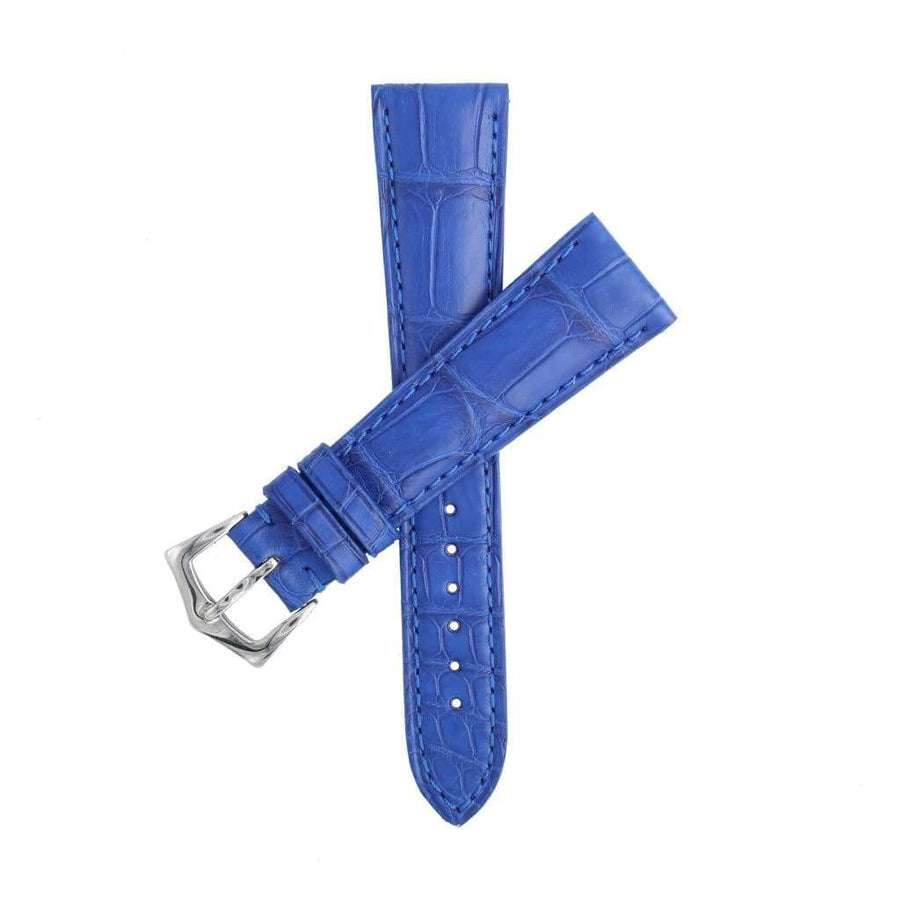 Casati - Milano Alligator Strap Blu Lapis Alligator Water Resistant Watch Strap