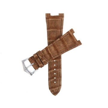 Casati - Milano Alligator Strap Brown Alligator Nubuck Watch Strap Patek Philippe Compatible