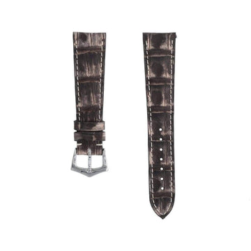 Casati - Milano Alligator Strap Brown Vintage Alligator Watch Strap