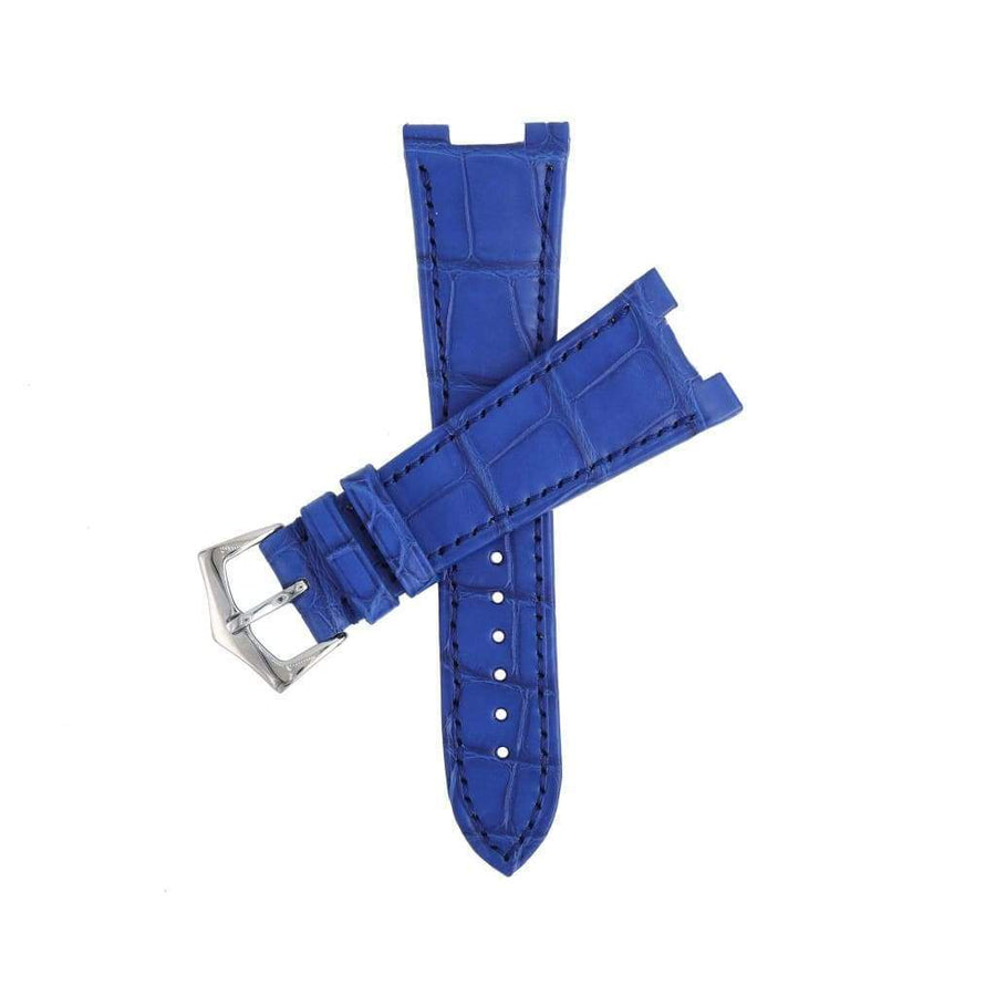 Casati - Miano Alligator Strap Light Blu Matt Genuine Alligator Watch Strap Patek Philippe