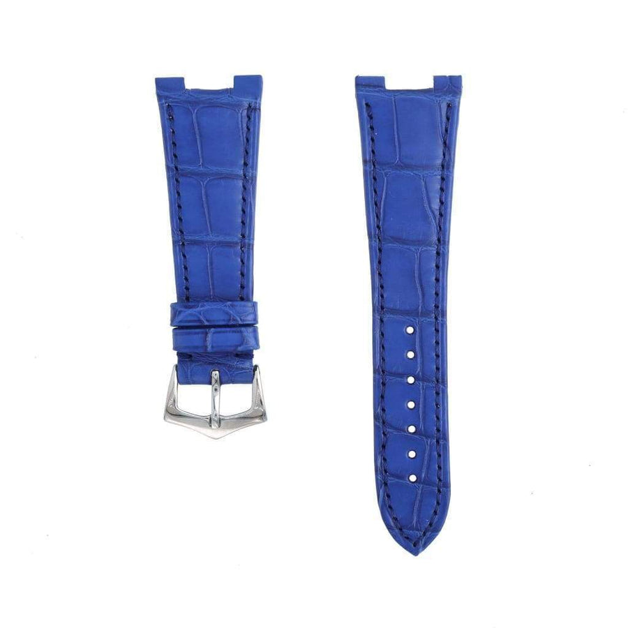 Casati - Milano Alligator Strap Light Blu Matt Genuine Alligator Watch Strap Patek Philippe