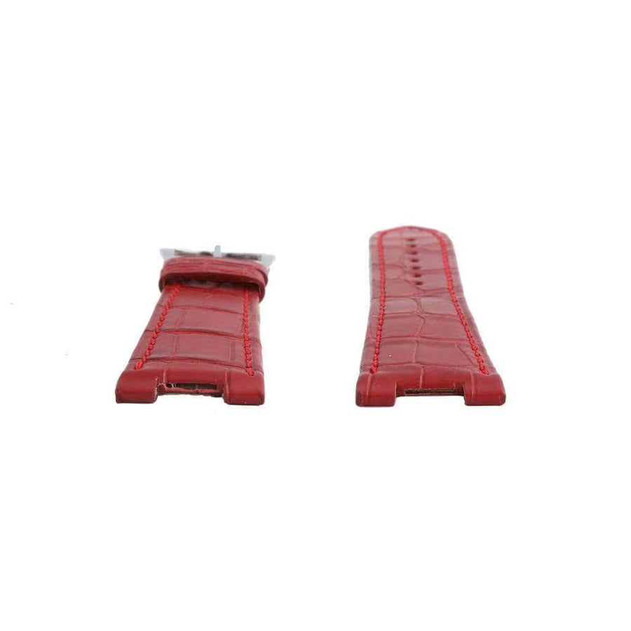 Casati - Milano Alligator Strap Red Matt Genuine Alligator Watch Strap Patek Philippe Compatible