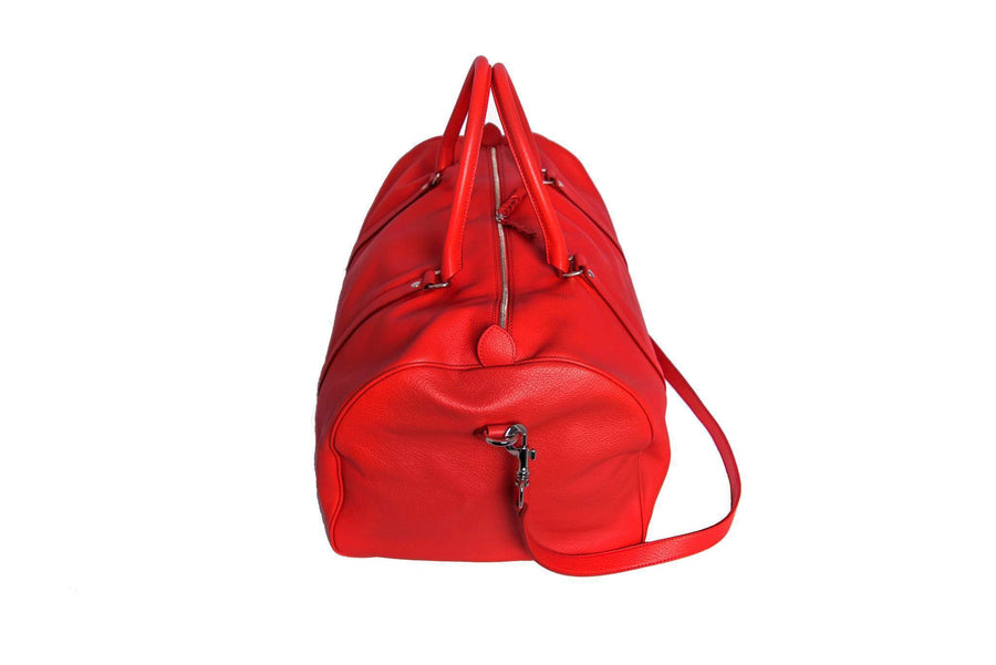 Casati - Milano Duffel Bag Red Duffel Bag