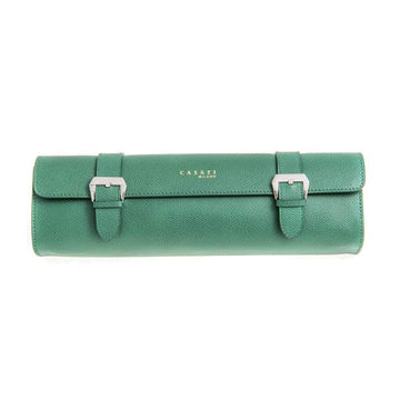 Casati - Milano Travel Case Casati Milano Travel Case Rectangular Epsom Leather Green