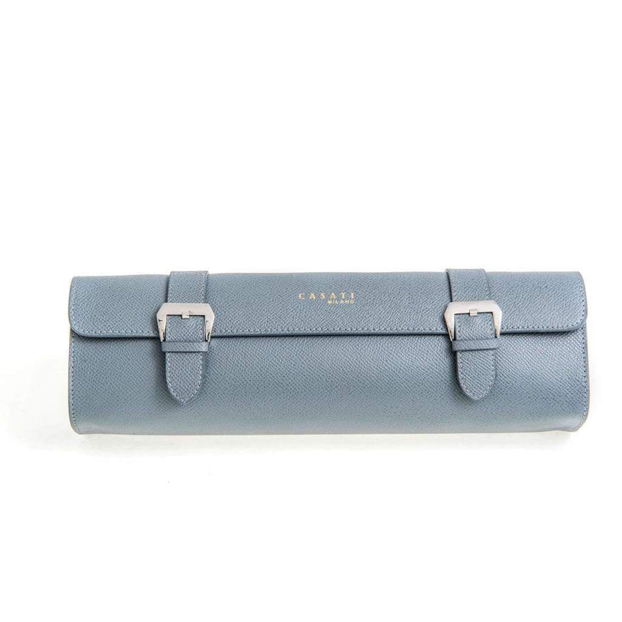 Casati - Milano Travel Case Casati Milano Travel Case Rectangular Epsom Leather Grey