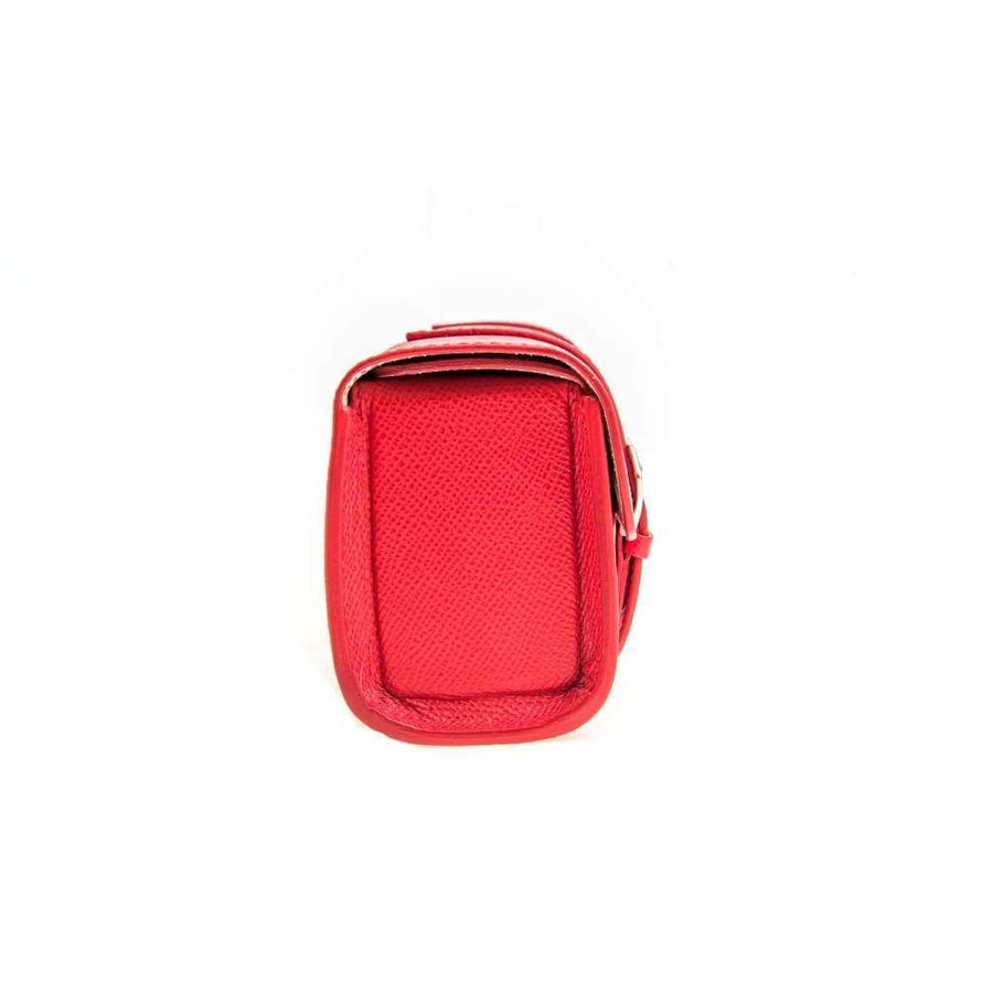 Casati - Milano Travel Case Casati Milano Travel Case Rectangular Epsom Leather Red