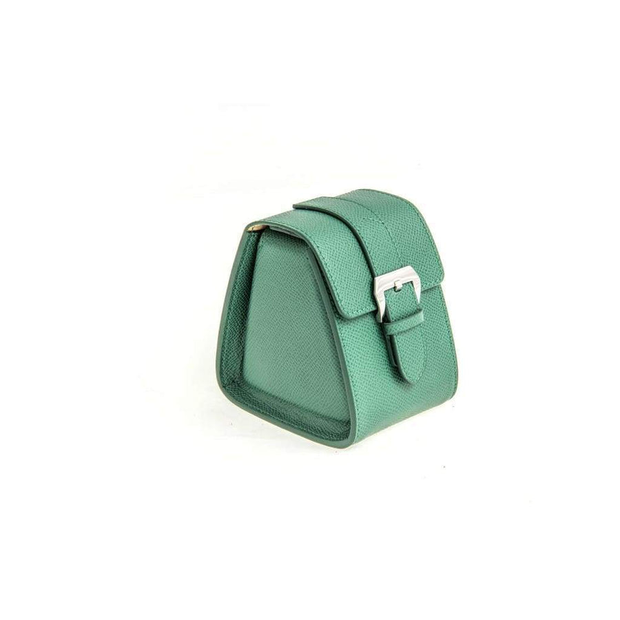 Casati - Milano Travel Case Casati Milano Travel Case Triangular Epsom Leather Green