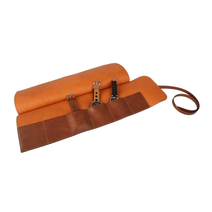Casati - Milano Watch Rolls Leather Watch Roll 6 Watches