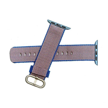 Milano Straps Apple Watch Nylon Straps 20mm Blue Nylon Apple Watch Band