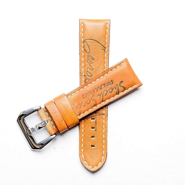 Milano Straps Leather strap Baseball Leather Watch Strap - Limited Edition