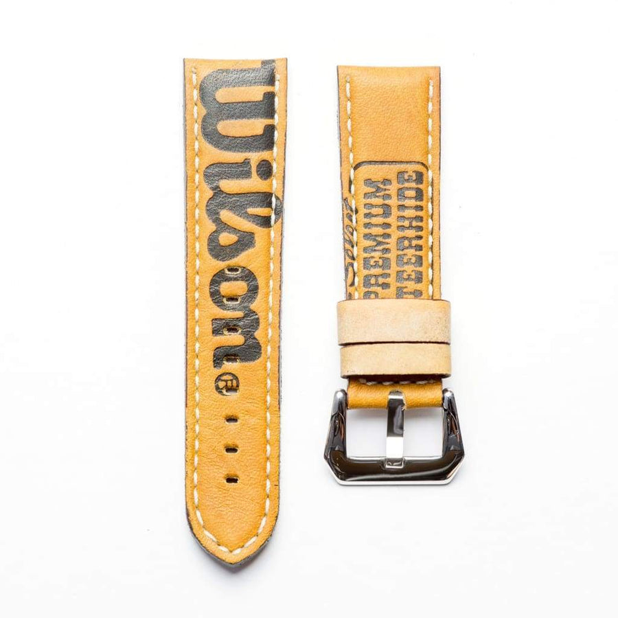 Milano Straps Leather Baseball Leather Watch Strap - Limited Edition
