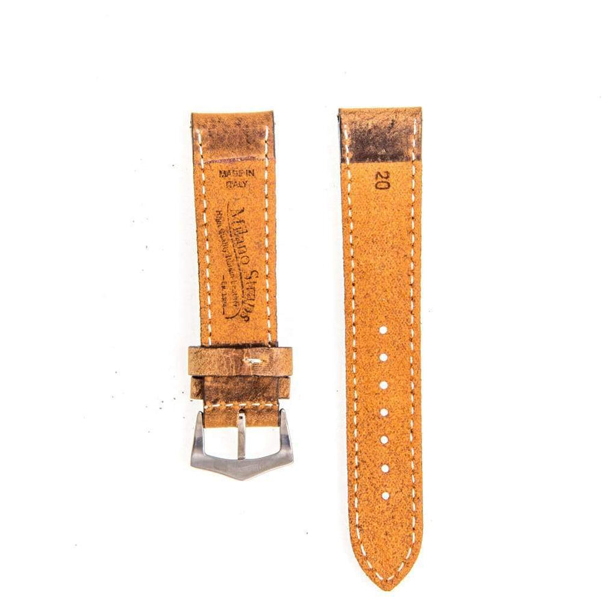 Milano Straps Leather strap Brown Leather Vintage Watch Strap