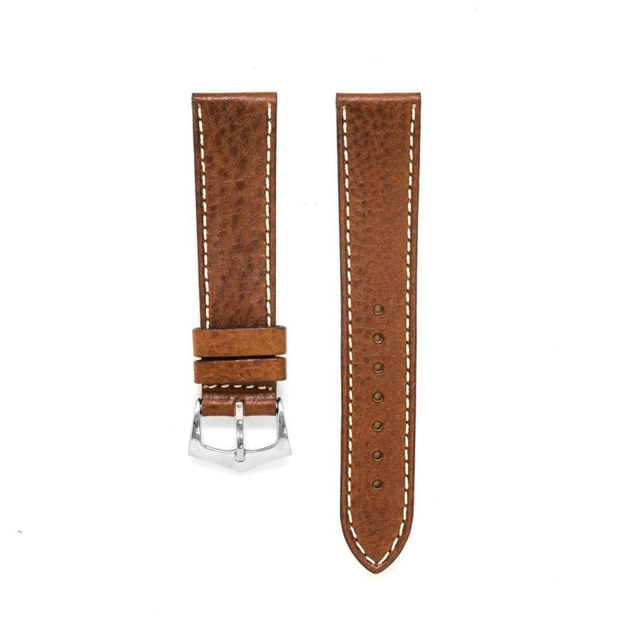 Milano Straps Leather strap Brown Leather Watch Strap