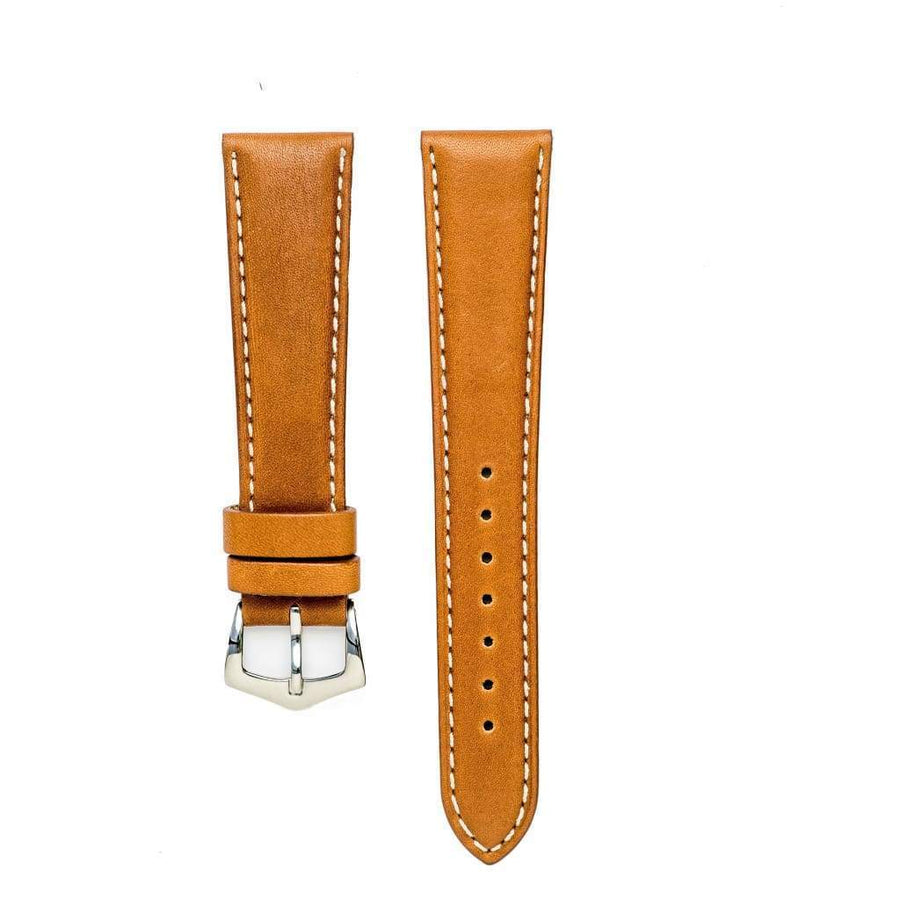 Milano Straps Leather strap Cognac Barenia Leather Watch Strap