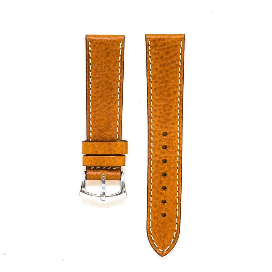 Milano Straps Leather strap Cognac Leather Watch Strap