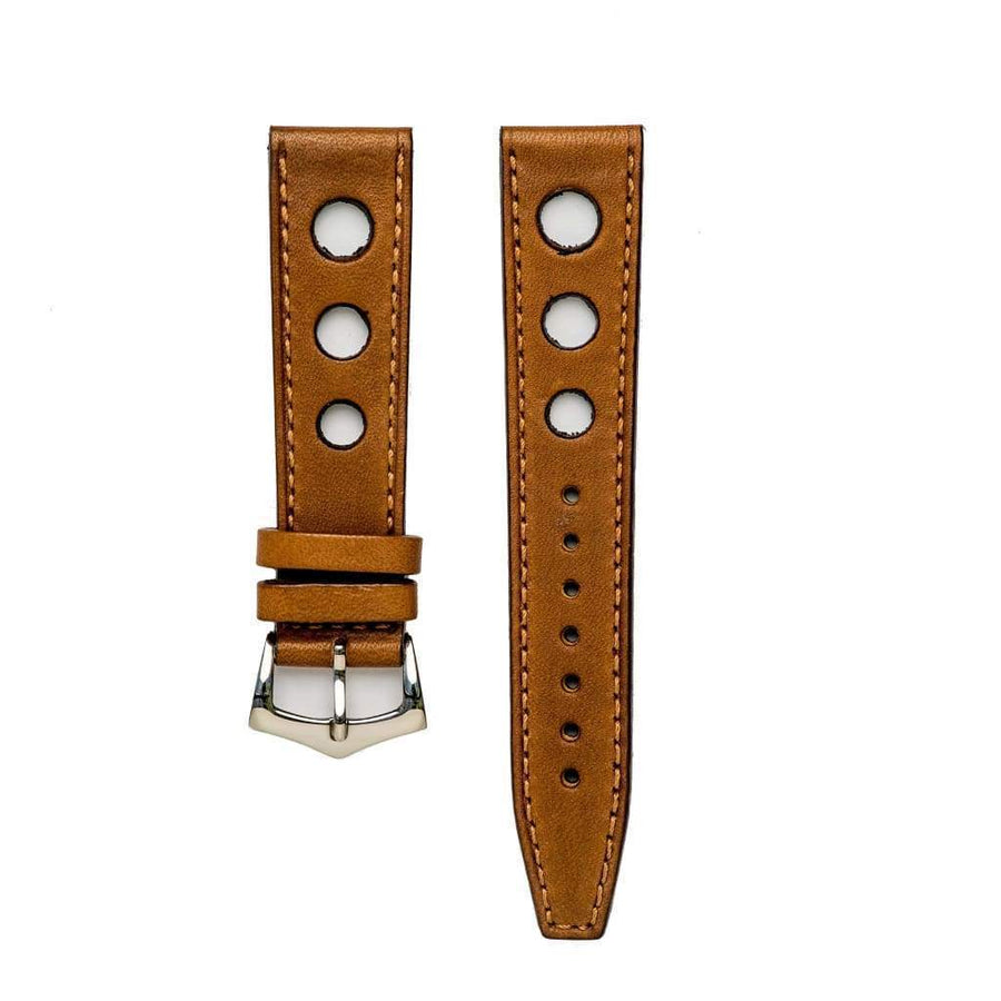 Milano Straps Leather strap Cognac