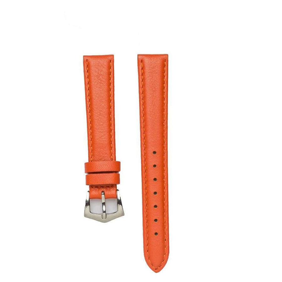 Milano Straps Leather strap Coral Nappa Leather Watch Strap