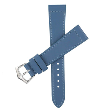 Milano Straps Leather strap Denim Calfskin Leather Watch Strap