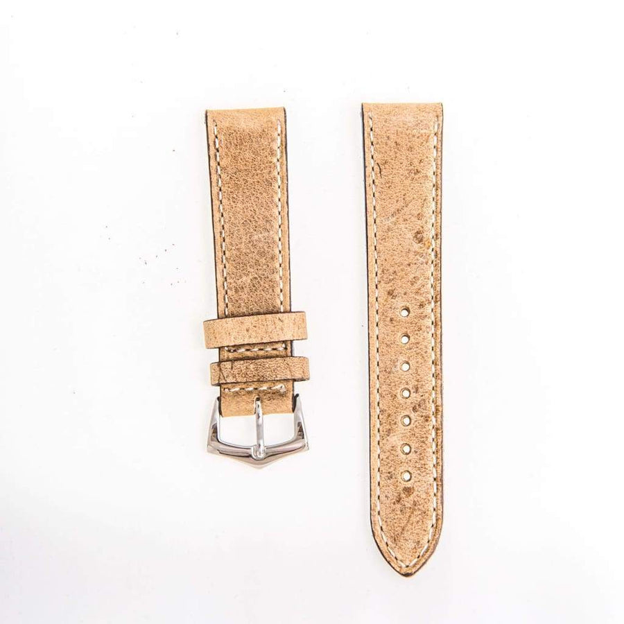 Milano Straps Leather strap Gaucho Leather Vintage Watch Strap