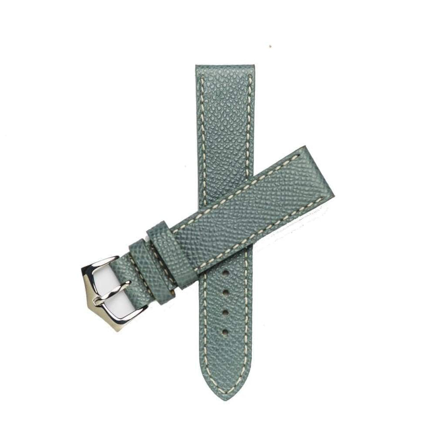 Milano Straps Leather strap Grey Epsom Leather Watch Strap