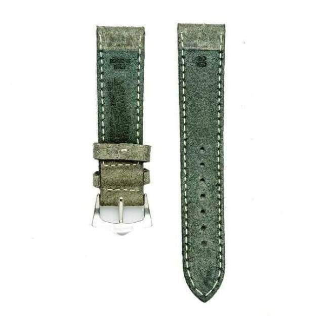 Milano Straps Leather strap Grey Leather Vintage Watch Strap