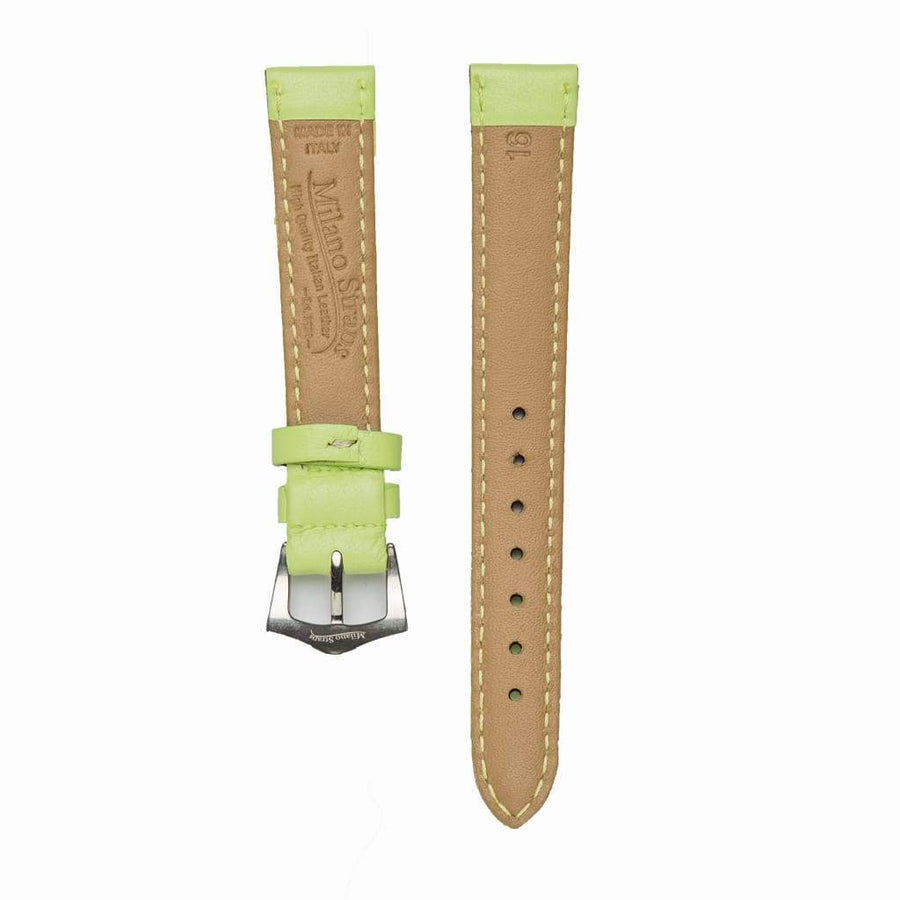 Milano Straps Leather strap Lime Nappa Leather Strap