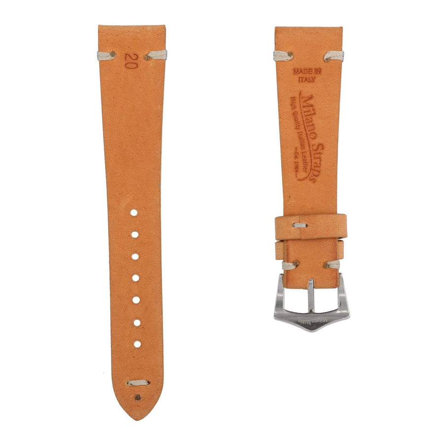 Milano Straps Leather strap Natural Leather Vintage Watch Strap