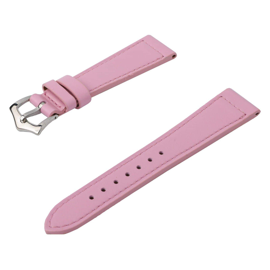Milano Straps Leather strap Pink Calfskin Leather Watch Strap