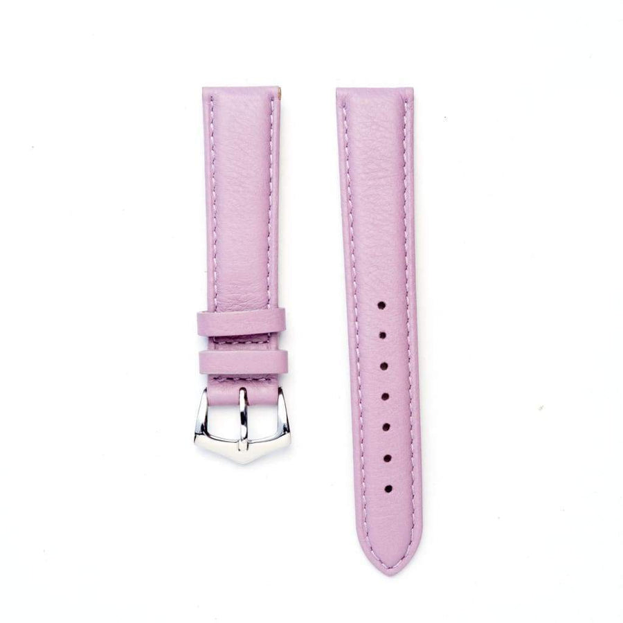 Milano Straps Leather strap Pink Nappa Leather Strap