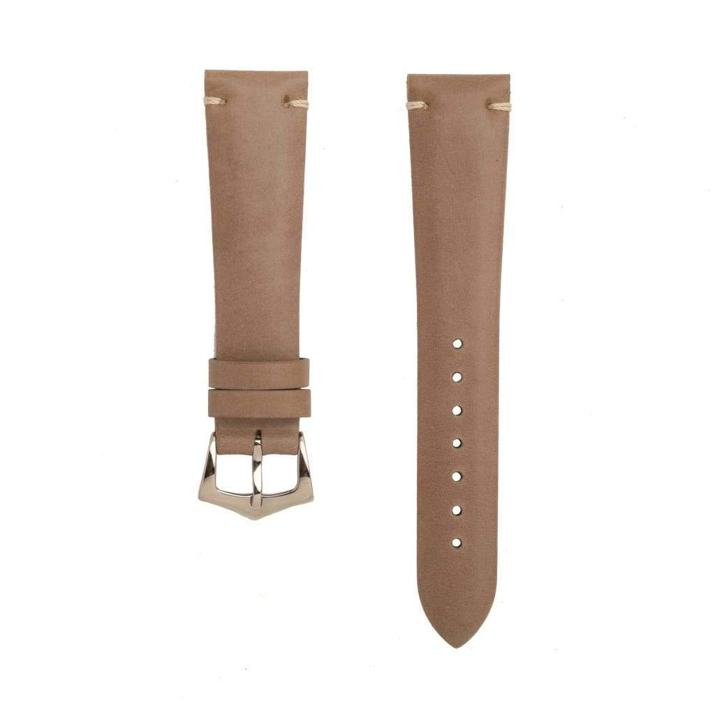 Toupe Calfskin Leather Vintage Watch Strap