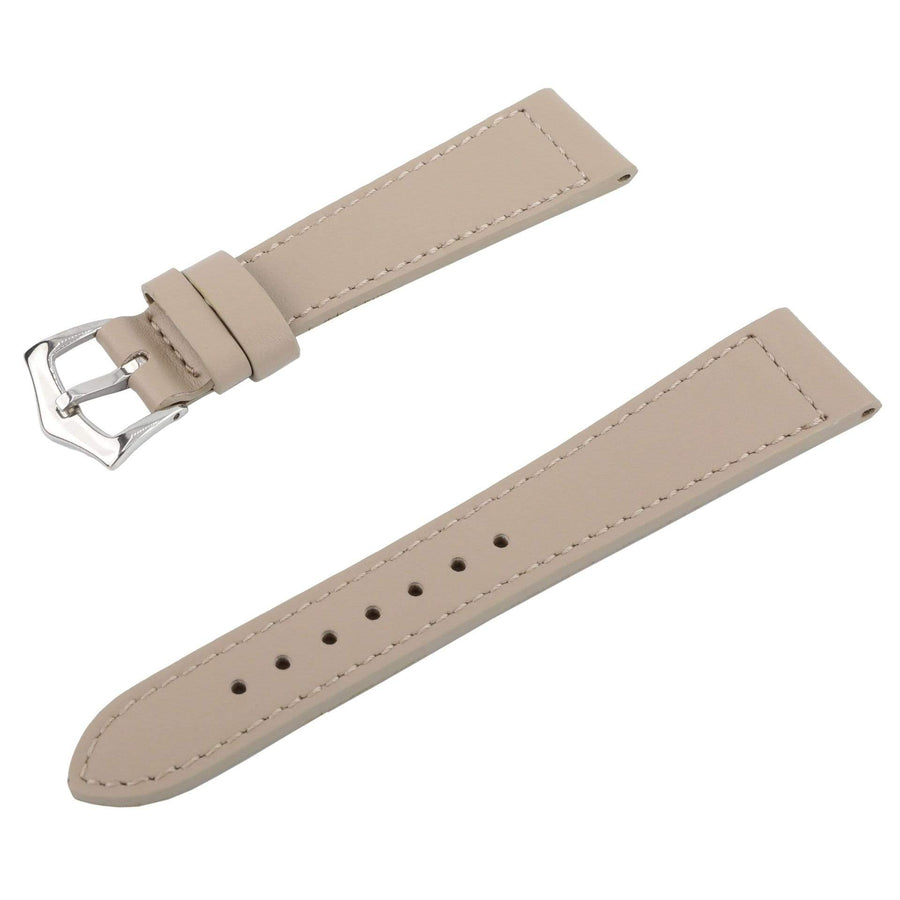 Milano Straps Leather strap Toupe Calfskin Leather Watch Strap