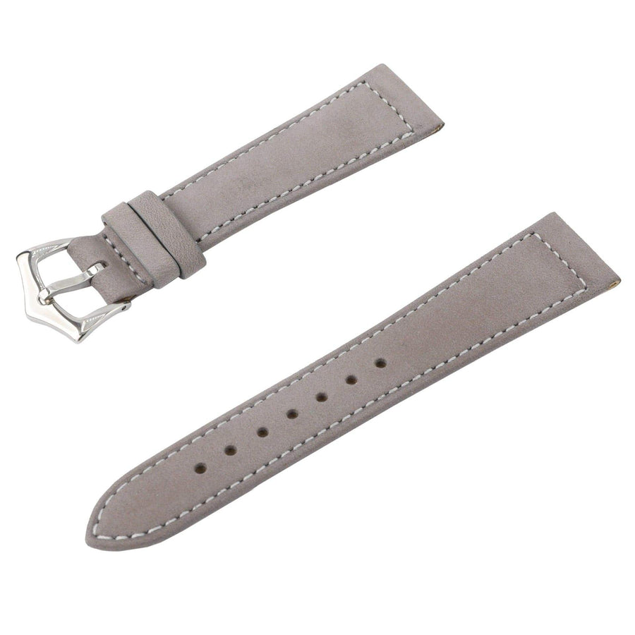 Milano Straps Leather strap Toupe Nabuck Leather Watch Strap