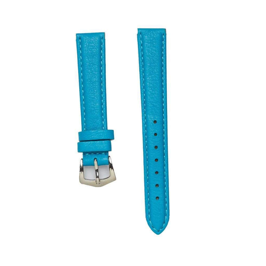 Milano Straps Leather strap Turquoise Nappa Leather Strap