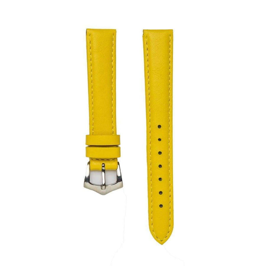 Milano Straps Leather strap YellowNappa leather watch strap