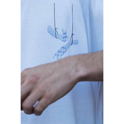 serpent dreams [hands] t-shirt
