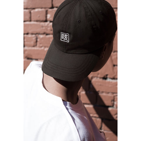 couugh cap / white logo