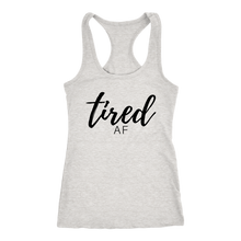 TIRED AF Women's Racerback Tank Top