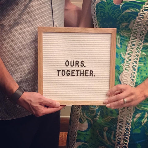 Ours. Together.