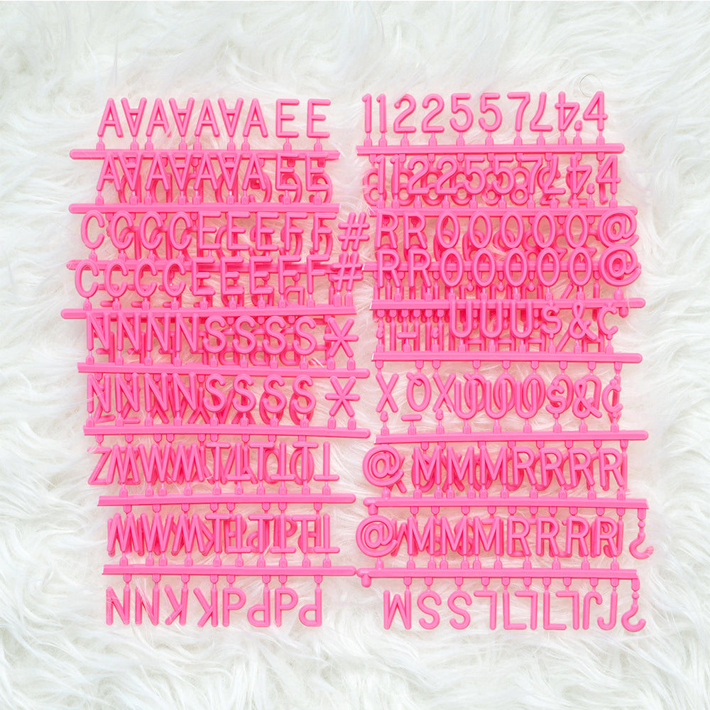 "3/4"" Pinky Promise Letter Set, 300-Piece"