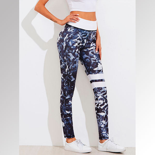 Leggings Estampado Floral Neutro