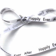 "White & Black Sparkle Shoelaces. Happily Ever After 3/8"" Flat White Ribbon Shoelaces"