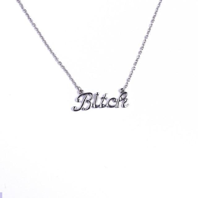 B Necklace - 50% OFF
