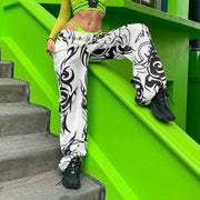 Baggy Tribal Print Pants