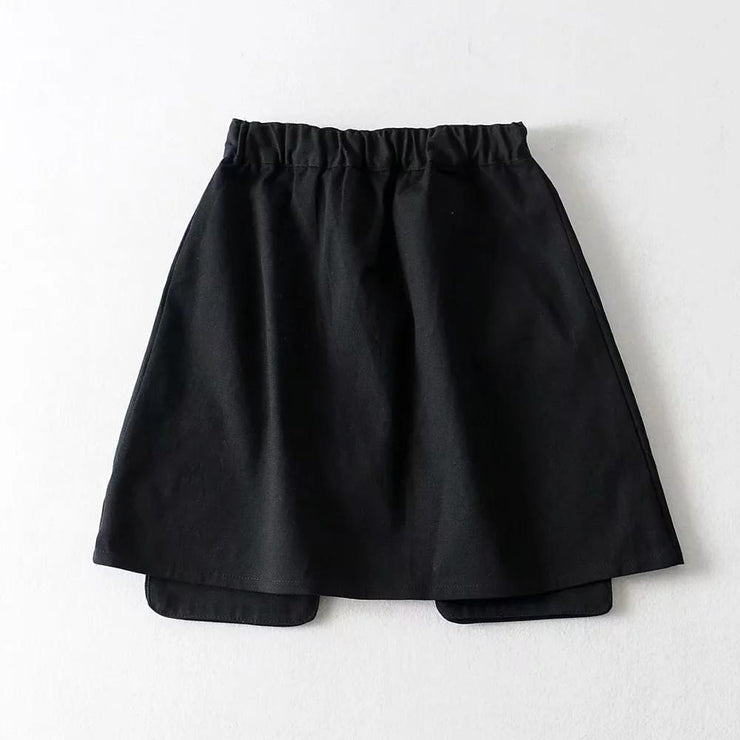 Cargo Skirt With Zippers