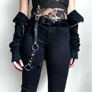 Chain Belt + Leg Ring