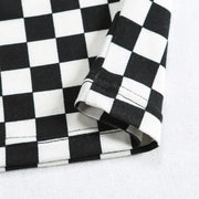 Checkered Turtleneck