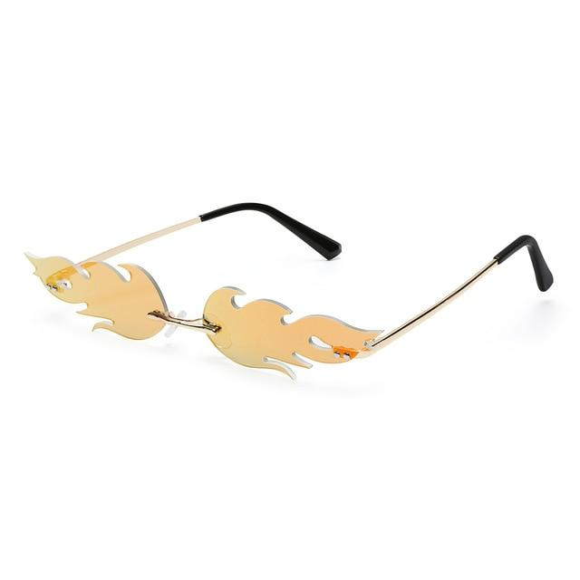 Flame Shaped Sunglasses