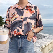 Floral Short Sleeved Shirt
