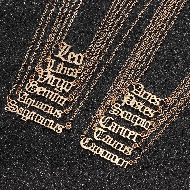 Gemini - Zodiac Necklace