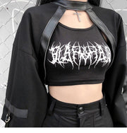 Gothic Cropped Top